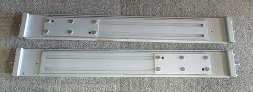"""Dell 2U Chassis Server Rack Mount Rails 24""""-36"""" Length 3"""" Tall Left & Right"""